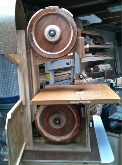 "Jens Larsen's small 10.5"" bandsaw"