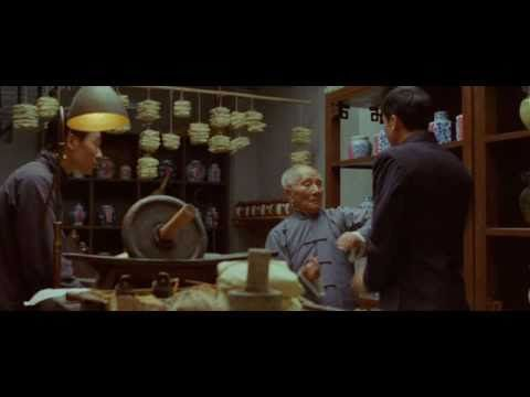 Ip Man vs. Leung Bik (The Legend is Born - Ip Man)   Ip Chun, (a real life son of legendary Ip Man) plays Leung Bik, who shows a few moves to  a young Ip Man in this movie.  Note, that Ip Chun did not use a stunt man...