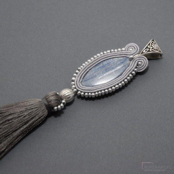 Wisiorek sutasz z kyanitem - Wisiorki - Biżuteria artystyczna