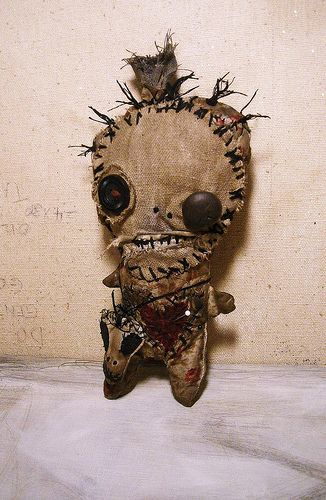 How do you use a voodoo doll?