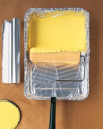 5 trucos de pintura con papel de aluminio, mi favorito el 4 | Hacer bricolaje es facilisimo.com