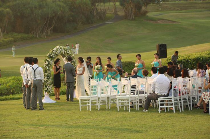 Wedding Vows,,Adam & Shuting www.nouadecor.com