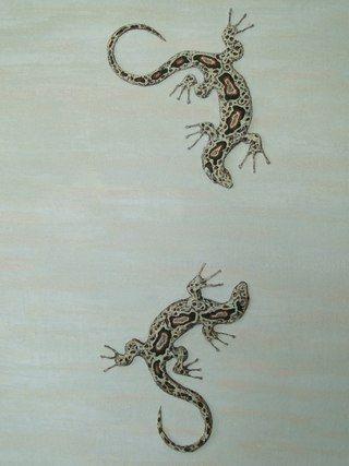 Декорация стены в стиле Сафари