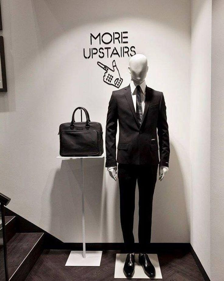 "KARL LAGERFELD,Hamburg, Germany, ""More Upstairs"", mannequins by Hans Boodt, pinned by Ton van der Veer"