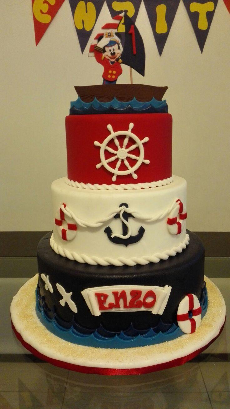 Torta marinero mickey