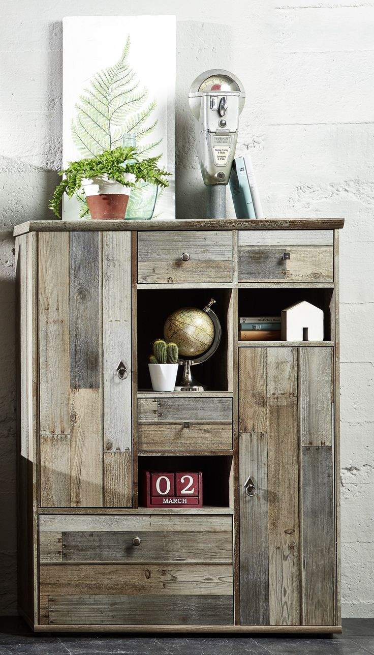 Highboard Driftwood Vintagelook Woody 22-01219 braun Holz Modern Jetzt bestellen unter: https://moebel.ladendirekt.de/wohnzimmer/schraenke/highboards/?uid=12df0ace-97f5-5a55-8bfe-1a9f8d9b92b8&utm_source=pinterest&utm_medium=pin&utm_campaign=boards #highboards #schraenke #wohnzimmer