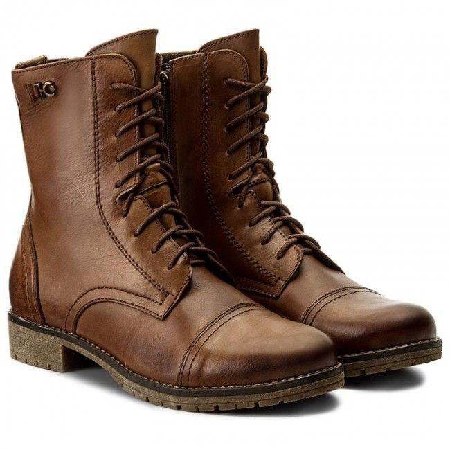 Magasított cipő LASOCKI - FIGURA-02 Barna