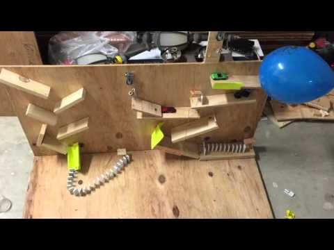 Jonathan Diaz's Rube Goldberg Machine to Pop A Balloon (AP Physics 1 Stem Fair) - YouTube