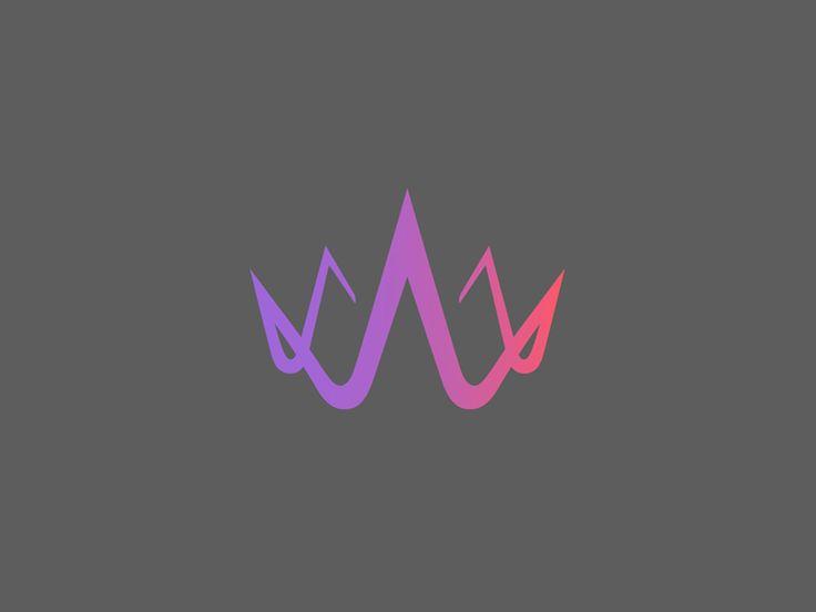 Magic crown done for Wodnerkiln logo