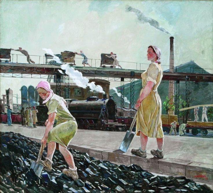 Deineka, el hombre que pintó la Revolución - Cultura Bolchevique