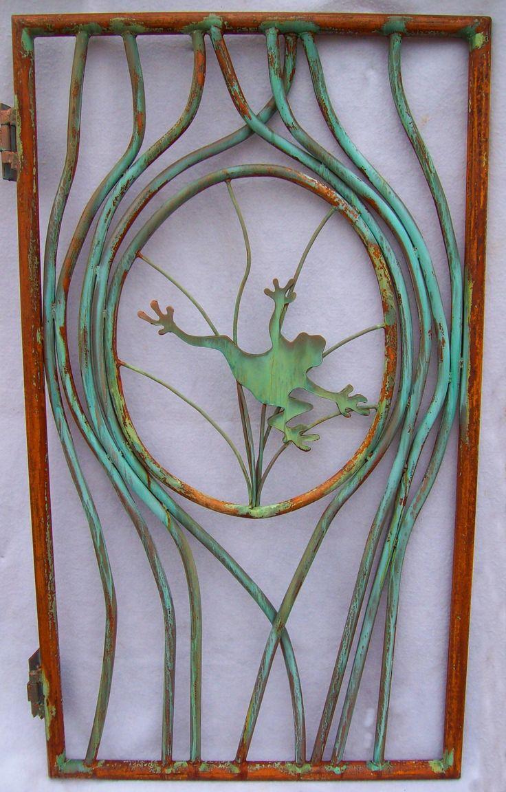 Doors & Portals Gates & Beautiful Ironwork, Garden Doors And Gates | Garden frog gate
