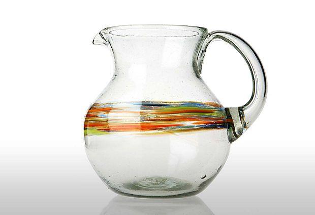 rainbow pitcher