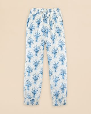 Ralph Lauren Childrenswear Girls' Floral Pants - Sizes 2-6X | Bloomingdale's