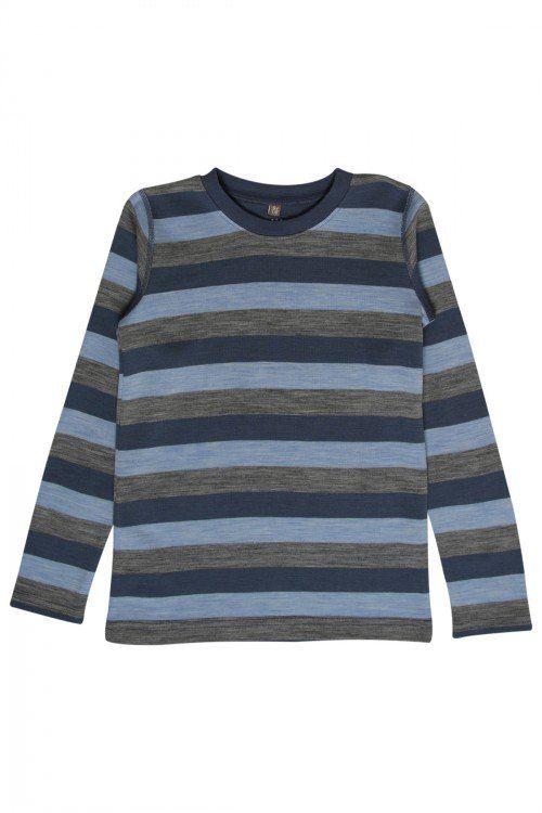 Hust&Claire genser merinoull striper - Arctic - Ullklær til barn - Klær - Barnas Hus