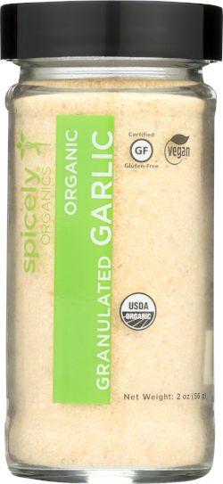 Organic Garlic, Granulates