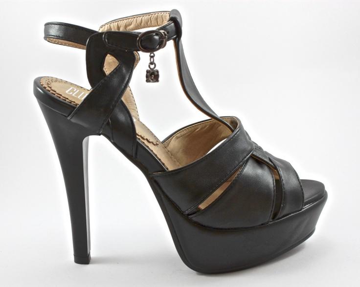 """""""ANGE"""" T-Strap Heels   www.clubtacones.com"""