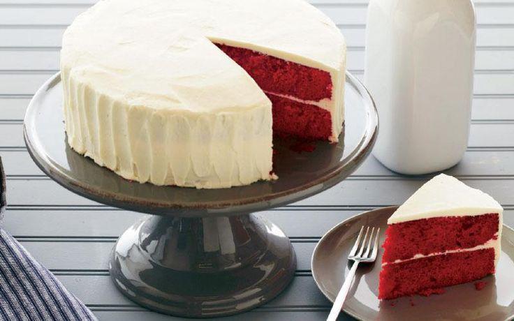 Κέικ «Κόκκινο βελούδο» (Red Velvet Cake)