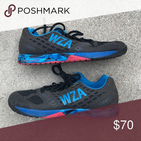 WZA Custom Reebok Nano 5 Limited edition WZA Nano 5's. Only given to WODAPALOOZA participants. Worn very few times. Basically new. Reebok Shoes Athletic Shoes