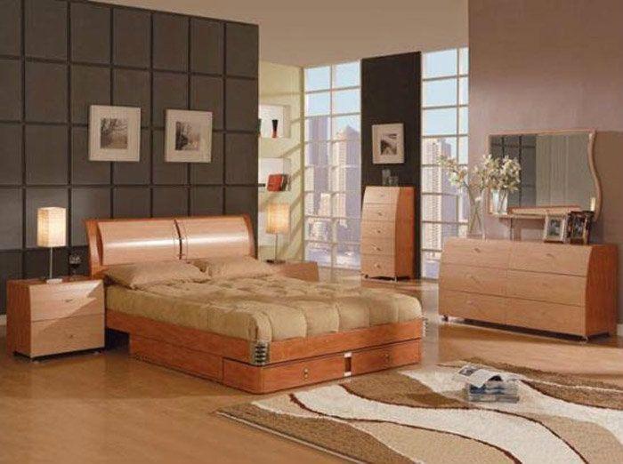 Drveni nameštaj u spavaćoj sobi  1