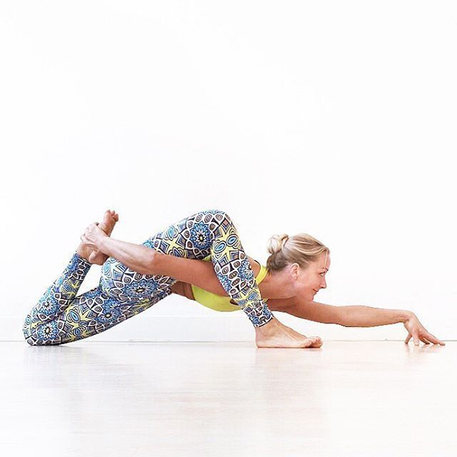 lizard variation   yoga
