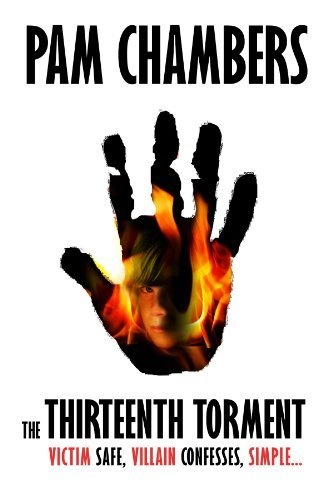 "The Thirteenth Torment by Pam Chambers, http://www.amazon.com/dp/B008RWWP24/ref=cm_sw_r_pi_dp_Bq7kqb1HF9KJ4 A thrilling Detective Crime novel. DI Kate Landers and her team have a motto: ""Victim safe, Villain confesses."" Simple...But when a small boy is found watching a man burn to death in a garden shed, and no-one knows who the boy is, or why he's there, Kate and her specialist team get dragged into a murder investigation.When another burnt body is found..."