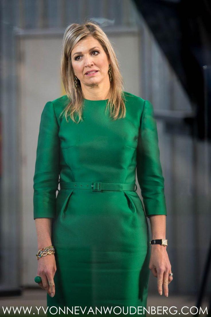 Koningin Máxima bij presentatie jaarbericht 2017 'Staat van het MKB'   ModekoninginMaxima.nl