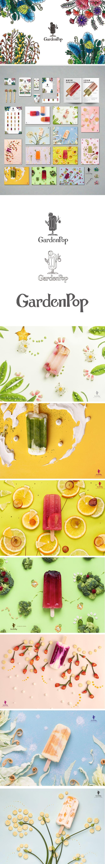 Garden Pop 2016 Graduation production From CYCU Commercial Design   A popsicle brand  Create by  Anpinc Huang   Jennifer Wang  Zoey Chen  Mujung