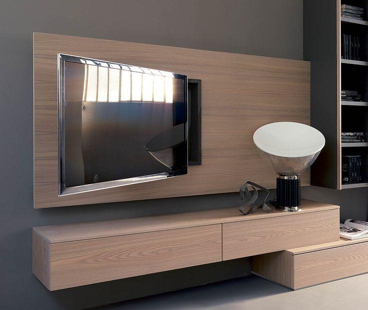 Oltre 25 migliori idee su letti a muro su pinterest - Porta tv a parete orientabile ...