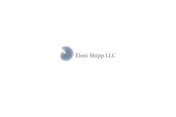 Eleni Shipp LLC, based in Birmingham, Alabama, is a marketing and market research consulting firm, with particular focus on strategic market analysis and customer marketing. Inspiration came from the Fibonacci sequence and its golden spiral form. Integers and the golden ratio match the high quality services Eleni Shipp has to offer. Simplicity paired with modern, elegant and at the same time robust, professional lines mirror the company's profile.