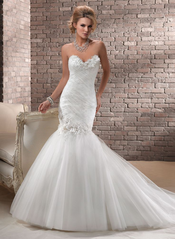 Divina by maggie sottero wedding dresses gowns trumpet for How to find a wedding dress