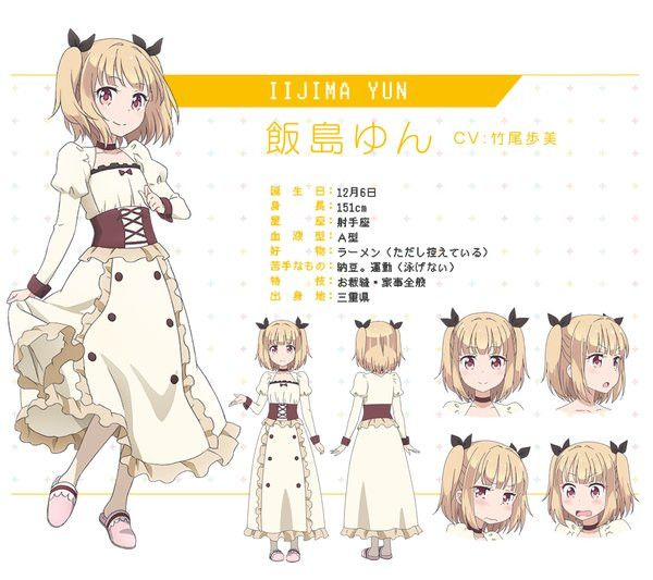 Anime Character Design Game : Crunchyroll quot new game anime character designs