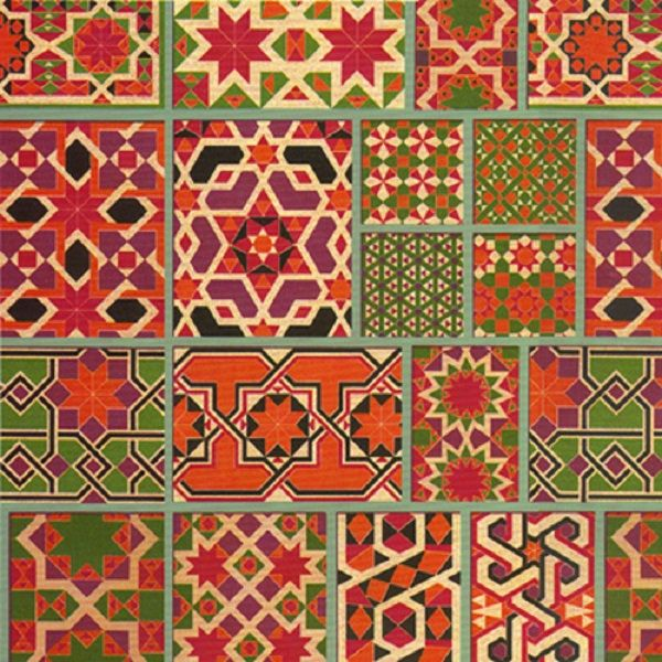 Moroccan Tile Design for Living Room and Terrace : Moroccan Tile Design Moroccan Fabric Pattern