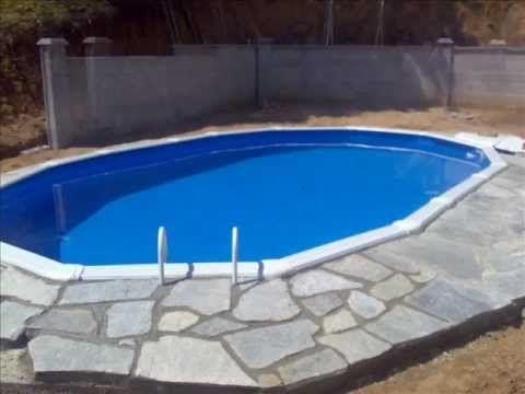En este vídeo podéis ver cómo enterrar una piscina desmontable. El resultado es espectacular.