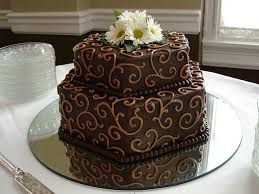 Image result for decorated chocolate frosting grooms cake