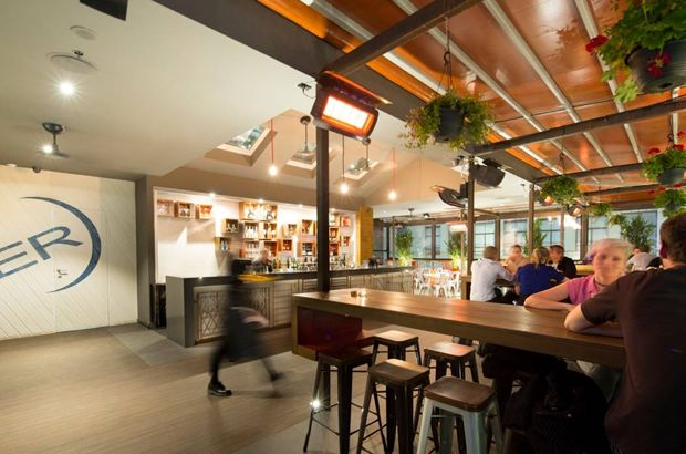Aer Bar is Melbourne CBD's first purpose built rooftop bar | Architecture And Design