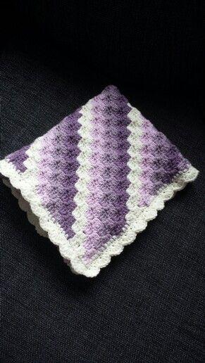 Crochet babyblanket c2c :)