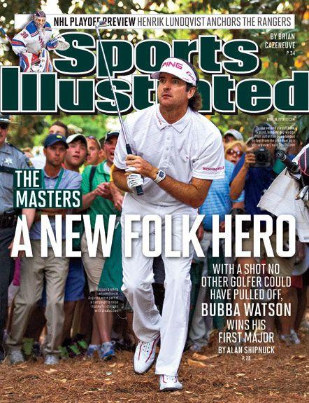 love bubba: Bubba Rocks, Augusta Master, Bubba Watson, Sports Illustrations Covers, Bubba Golf, Sportsi Stuff, Augusta National, Sports Stuff, Magazines Covers