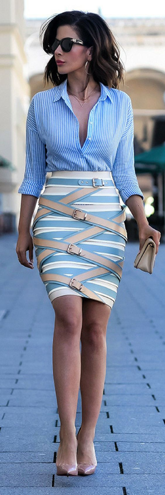 abiti estivi STRAP-SKIRT // Summer Outfit Idea By Short Stories and Skirts