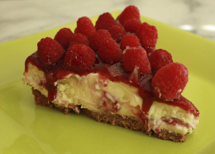 ... Raspberry Ginger Cheesecake! http://www.dessertsrequired.com/raspberry