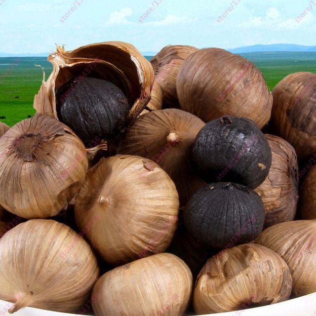 Black Garlic is good for Health ! Try it !