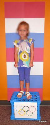 Tippytoe Crafts: Preschool Olympic Games