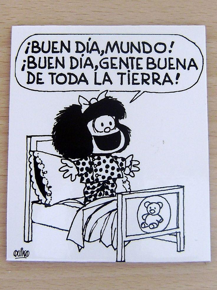 Buen dia con Mafalda