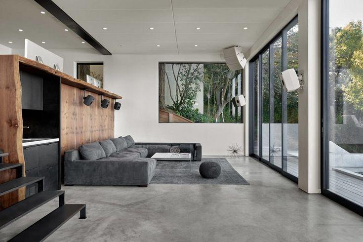 die besten 25 polierter beton ideen auf pinterest s ure gebeizt beton betonb den und s ure. Black Bedroom Furniture Sets. Home Design Ideas
