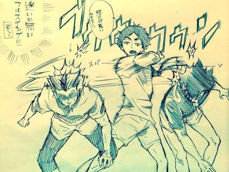 4|『ハイキューの面白い漫画下さい!』への回答の画像9。週刊少年ジャンプ,趣味,ハイキュー!!。