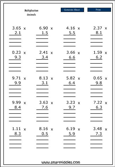 13 best Maths images on Pinterest Maths, Help teaching and - long multiplication worksheets