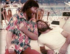 Brian and Dennis Wilson