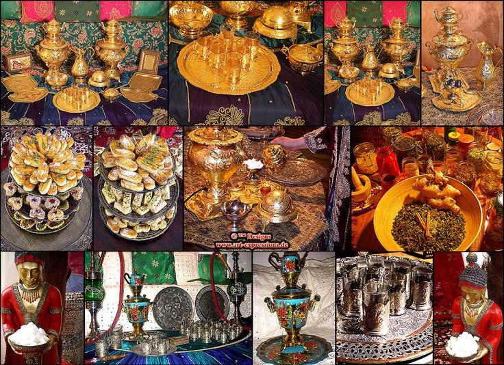 Venezianische barock lounge stilm bel for Indische deko