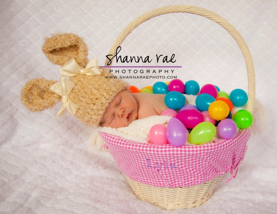 Easter Hat Ready to Ship 1824 months Baby by crochetedcuddles, $22.95    #Easter #bunny #hat #gift #idea #photo #prop #baby #shower #announcement #birth rabbit #fluffy #boy #girl