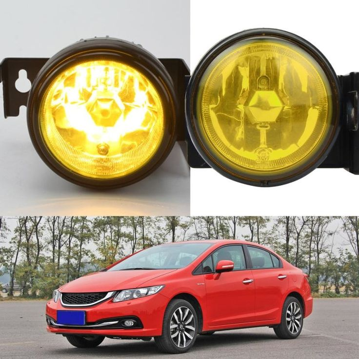 69.13$  Buy here  - 2016 HOT SALE car styling For 1999-2000 Honda Civic SI Type R JDM Yellow Fog Lights Front Bumper Lamp FULL KIT  YYH Vicky