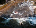 Sliding Rock in North Carolina